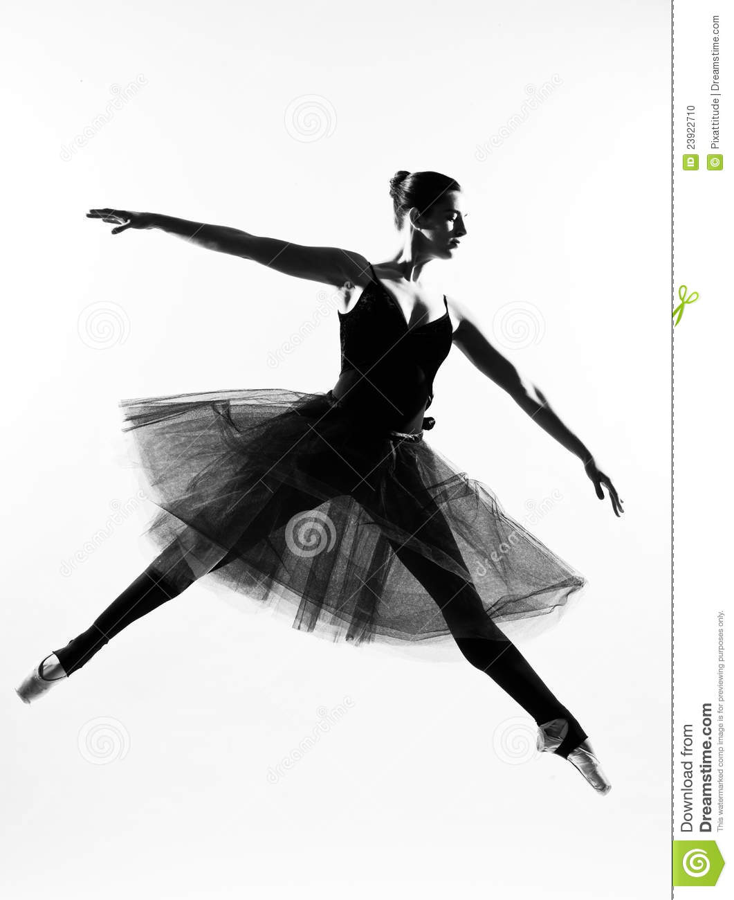 blitsy blog leap ballet dancer leap silhouette stock photo 1145
