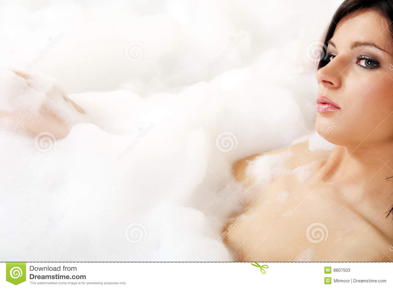 Woman in bathtub. stock image. Image of lady, home, leisure - 8807503