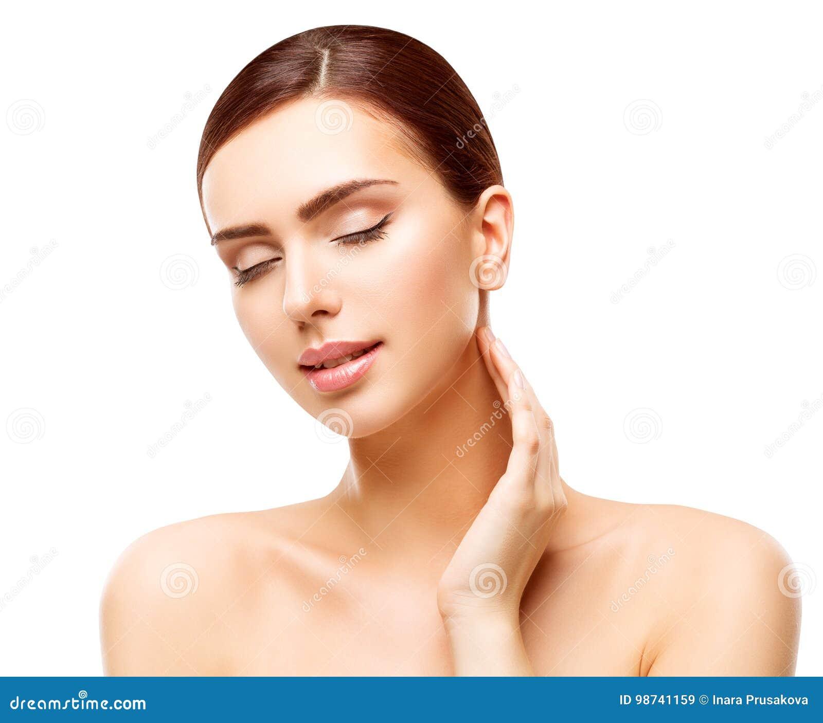 Woman Skin Care: Woman Beauty Face Skin Care, Natural Skincare Beautiful
