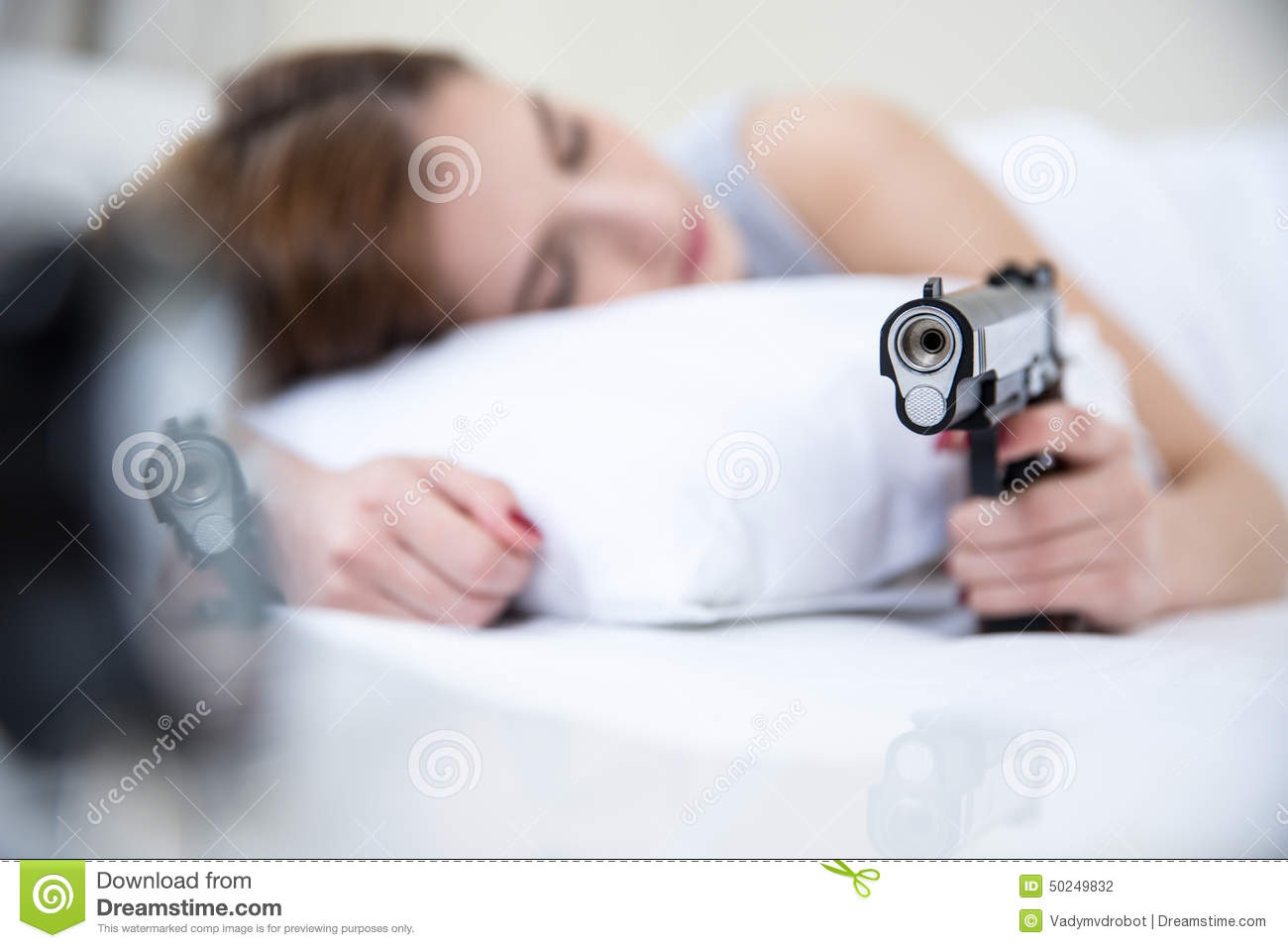 Gun Bed Sheets