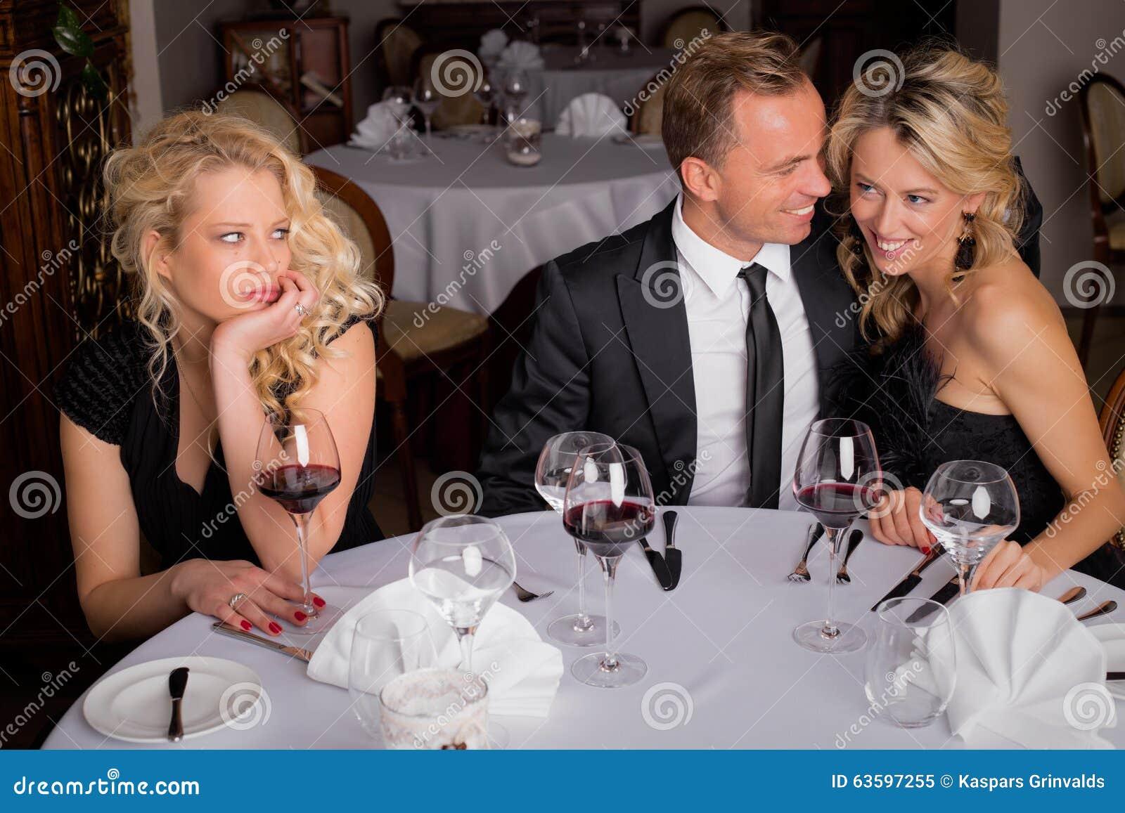Threesome Dinner