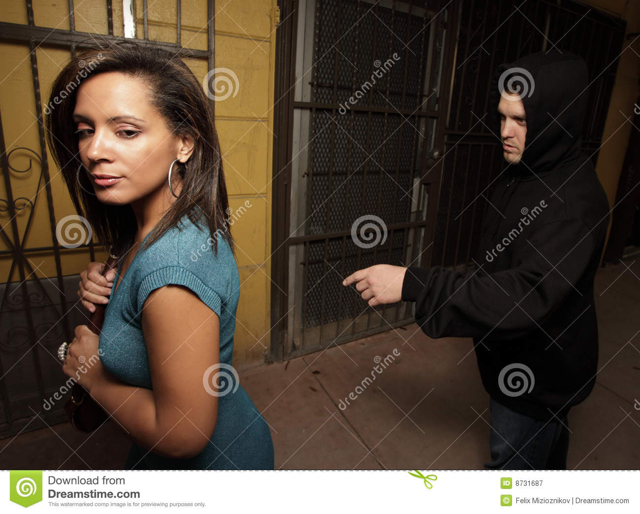 Man Stalking Woman Stock Photos, Images, & Pictures - 62 Images