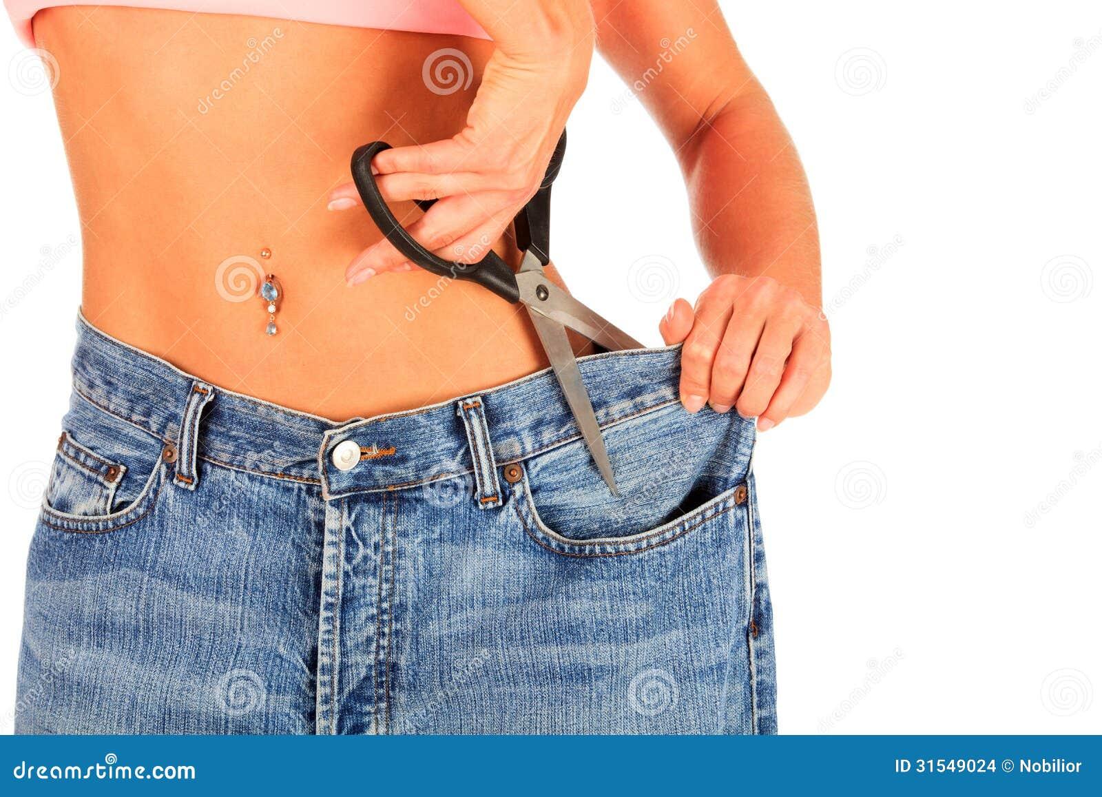 Как сделать джинсу меньше