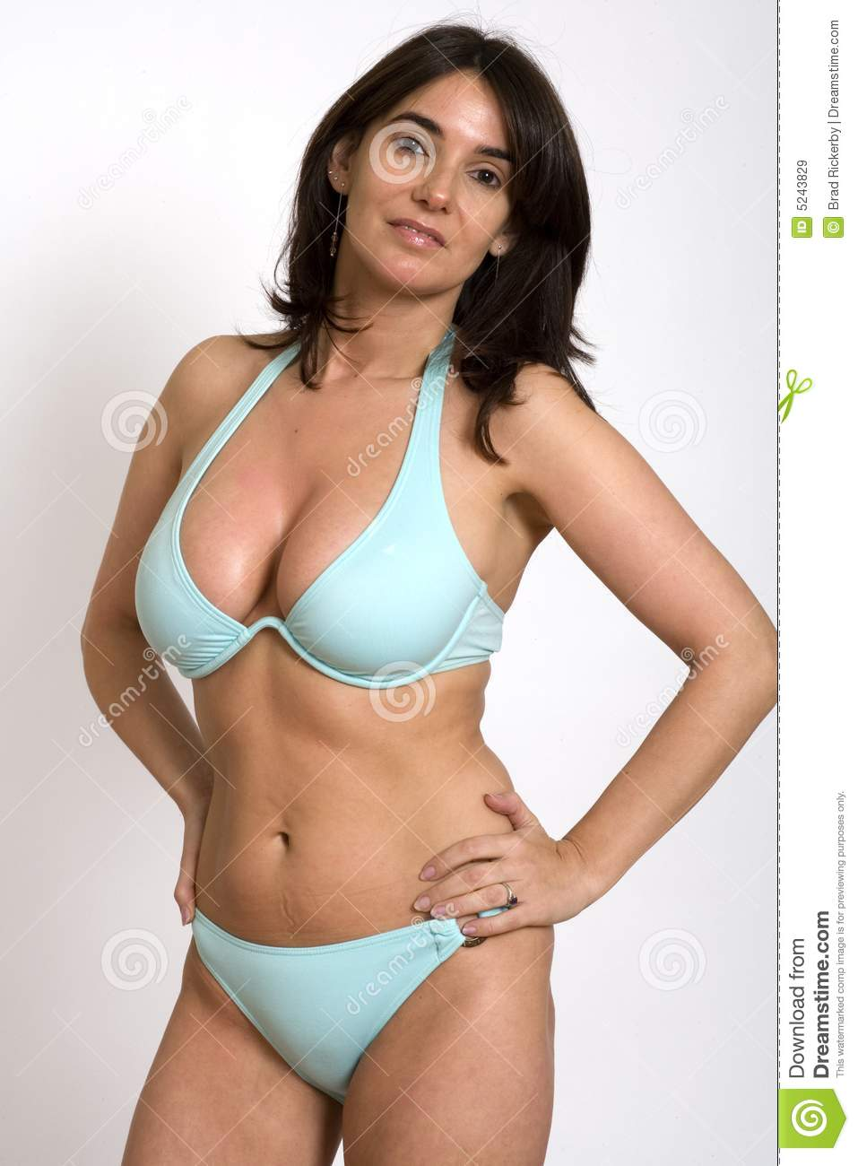 Woman in bikini stock image image of assured bikini Sexy 30