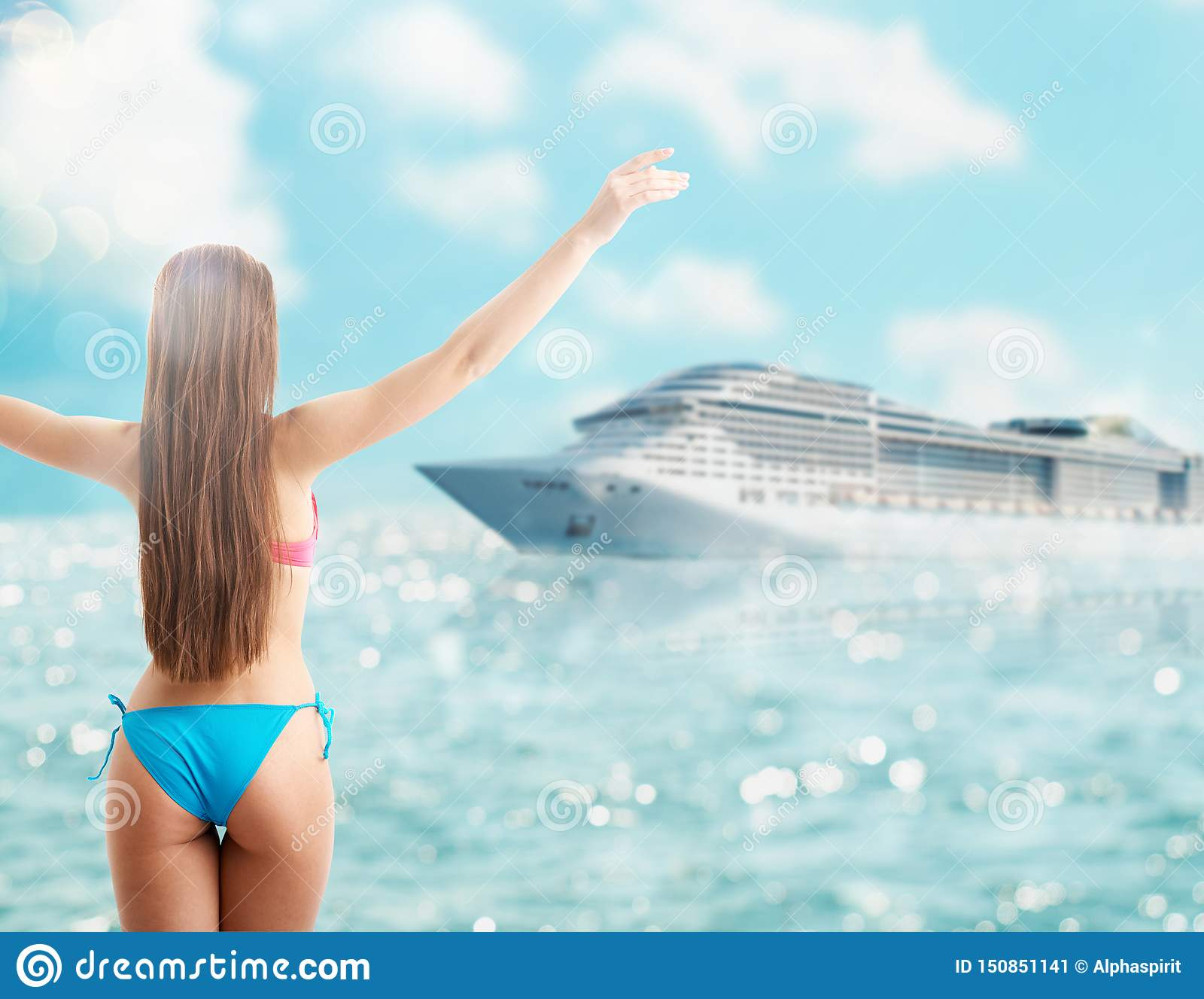 pictures Cruiseship bikini