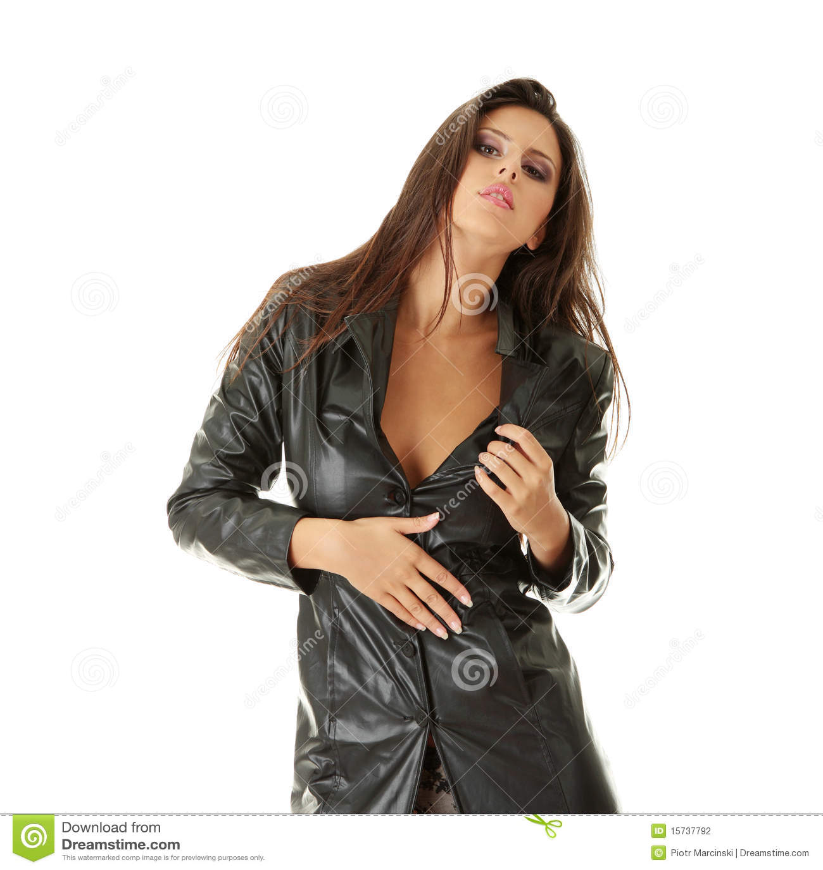Фото женщин в кожаных плащах порно 6 фотография