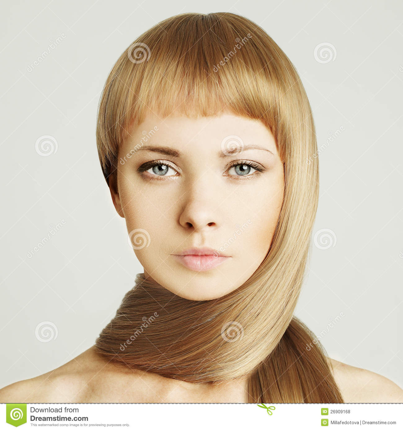 Woman in a beauty salon royalty free stock photo for Photo salon