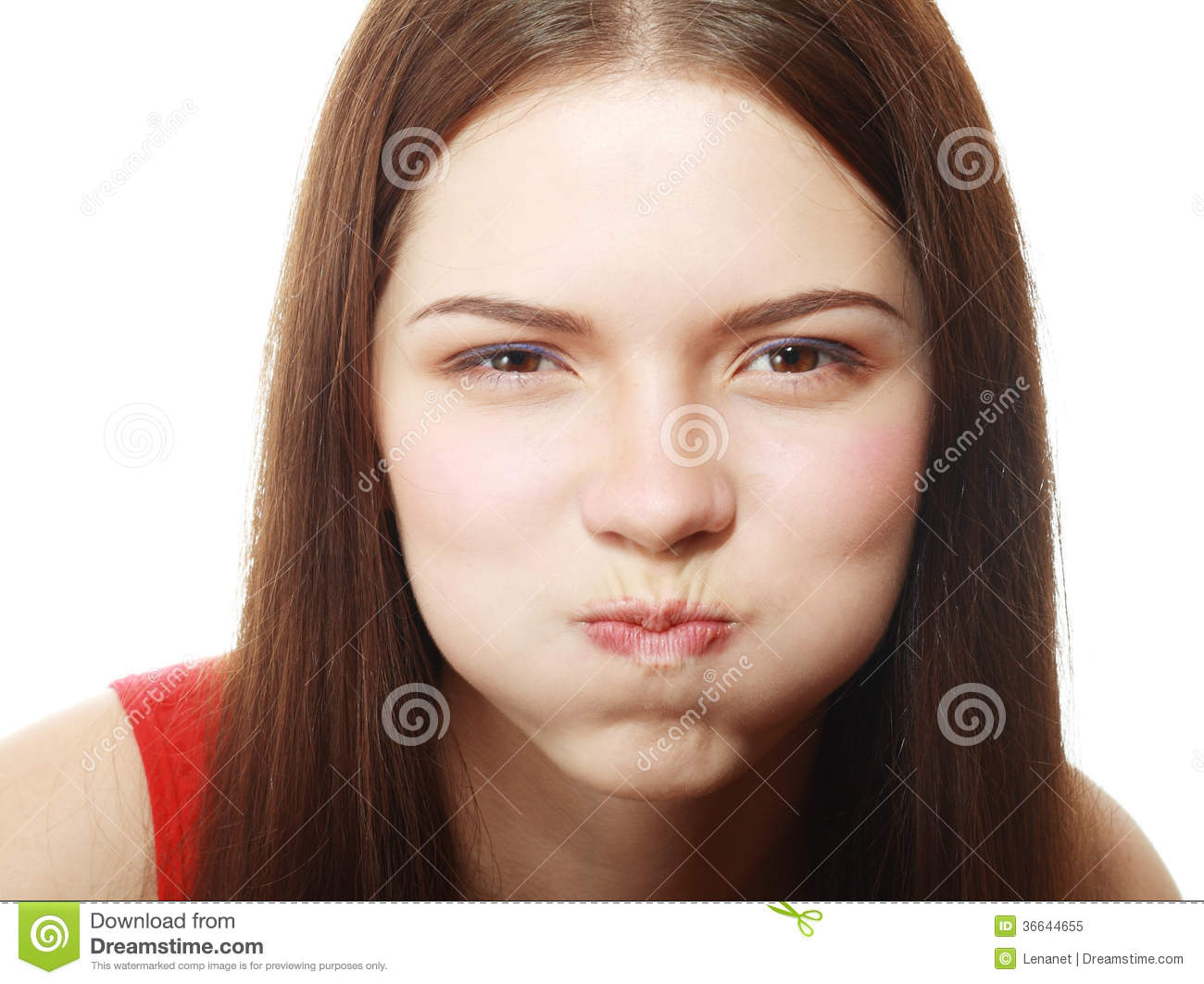 Puffed Cheeks Stock Photos, Royalty-Free Images & Vectors ...