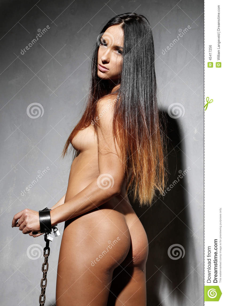 Beautiful naked women bondage something