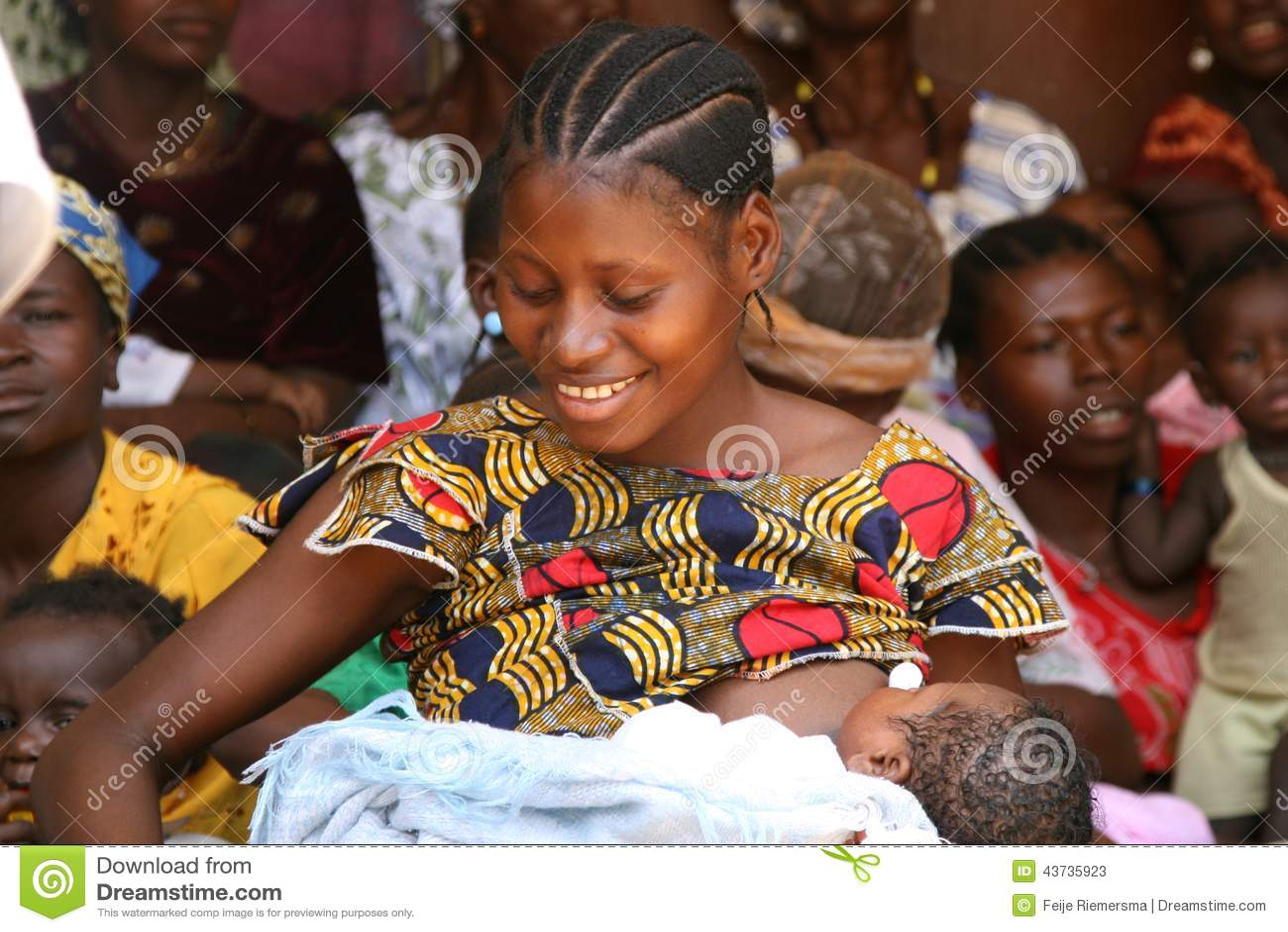 Woman Breastfeeding Her Baby Editorial Stock Photo - Image ...