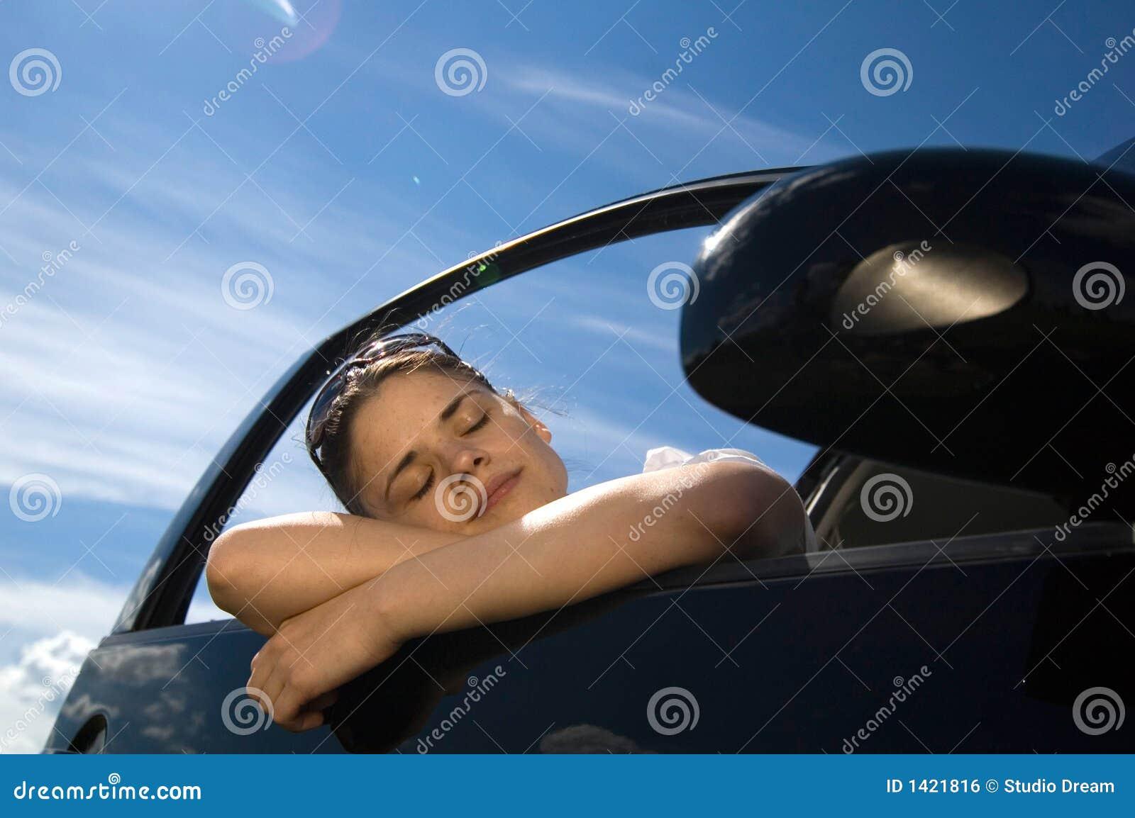 Woman in Car 2