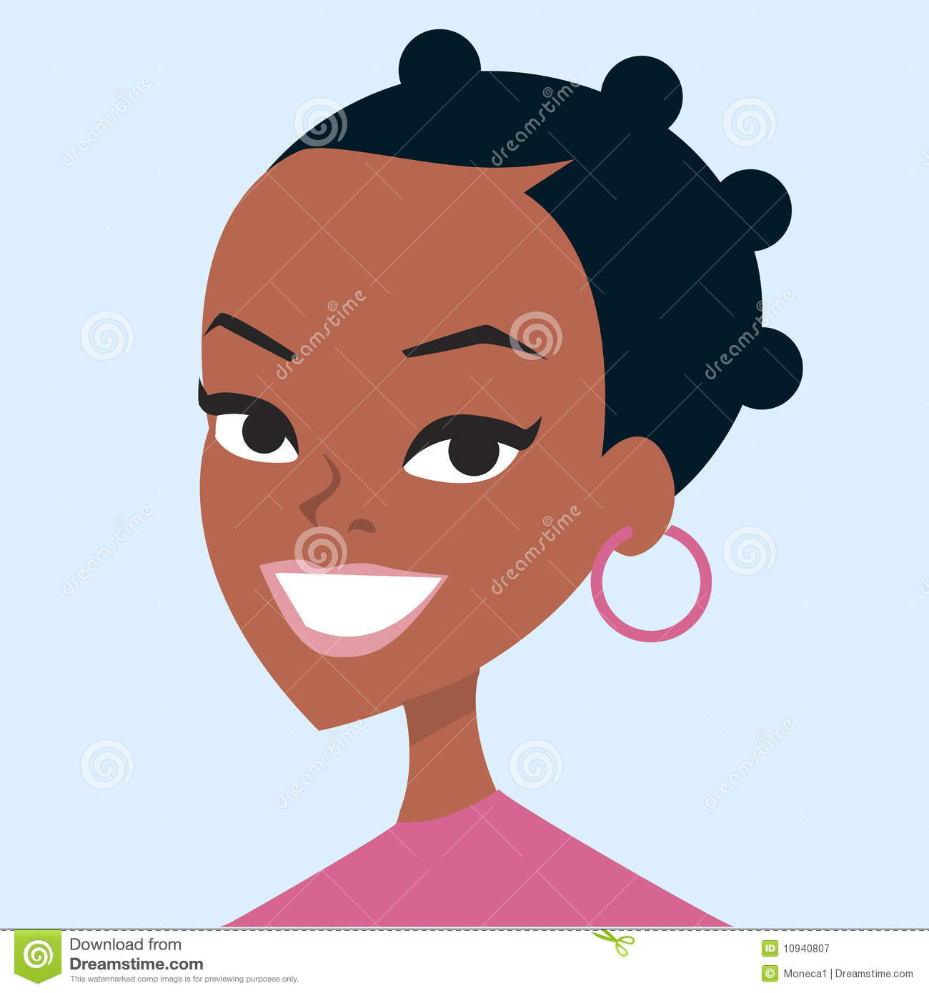woman cartoon portrait royalty free stock photography big family dinner clipart big family clipart images