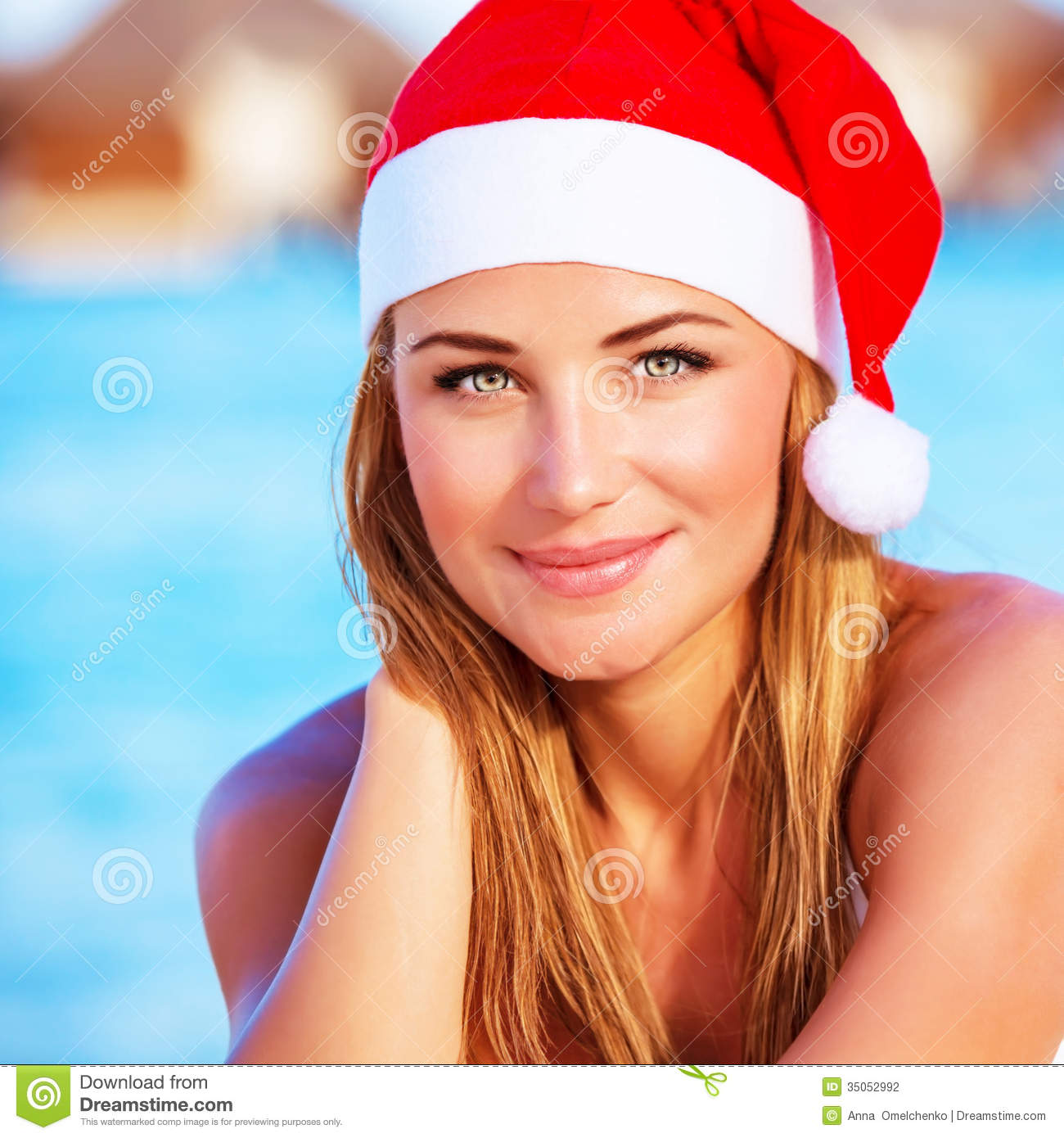 ... island, Christmas party on the beach, travel and vacation concept