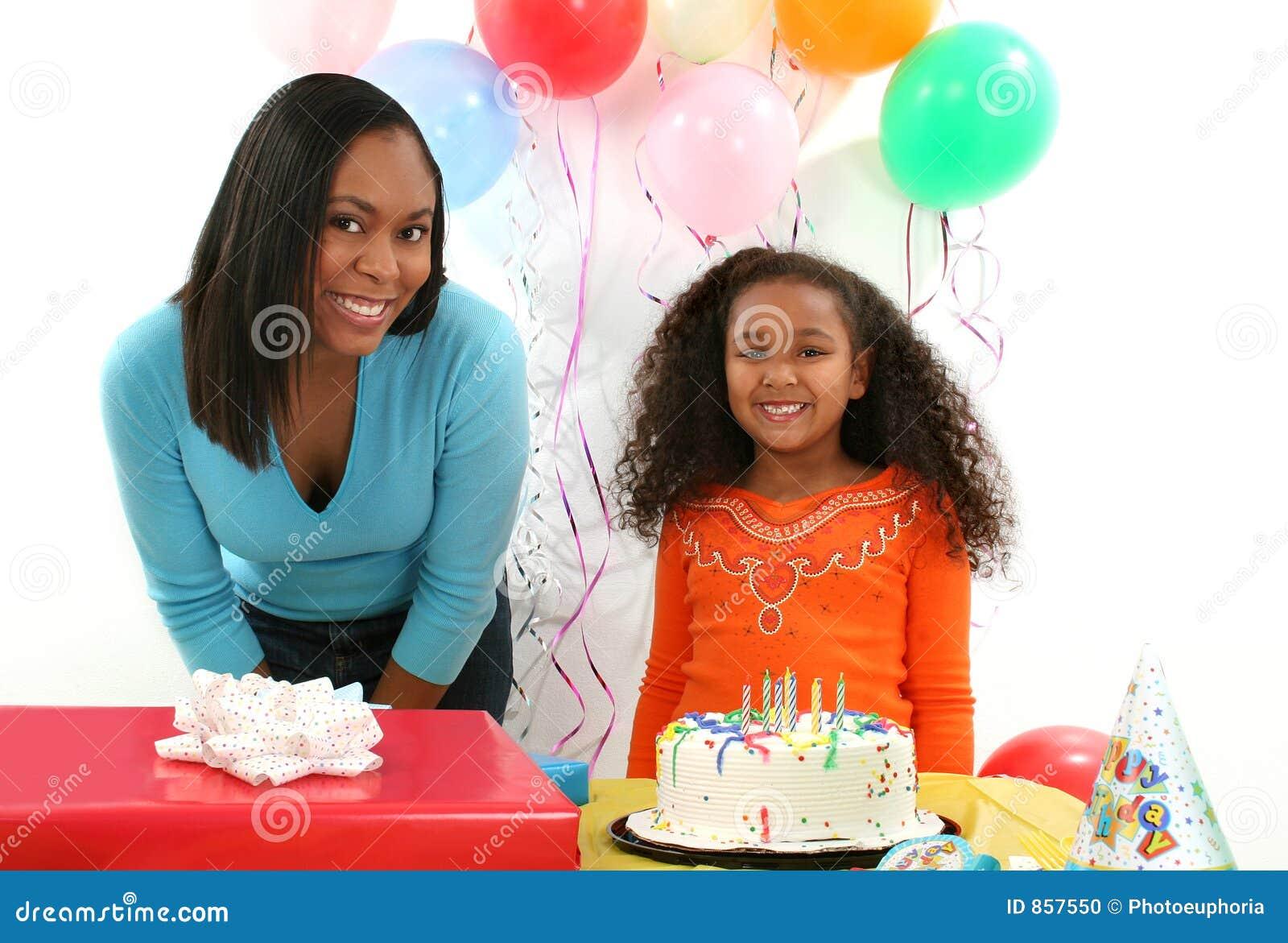 Woman, Child, Birthday