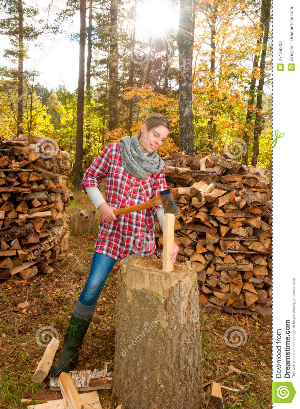 nenets woman cutting firewood - photo #37