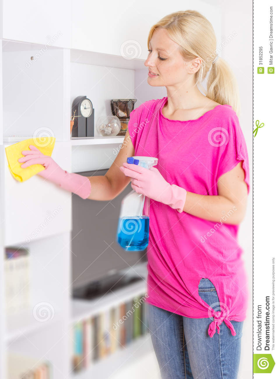 Woman cleaning home royalty free stock photo image 31852295 for House cleaning stock photos