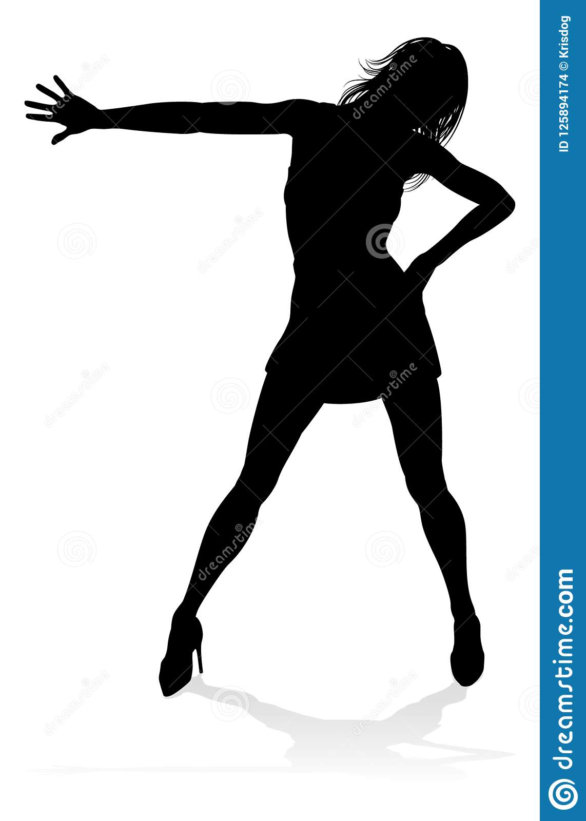 Dance Dancer Silhouette