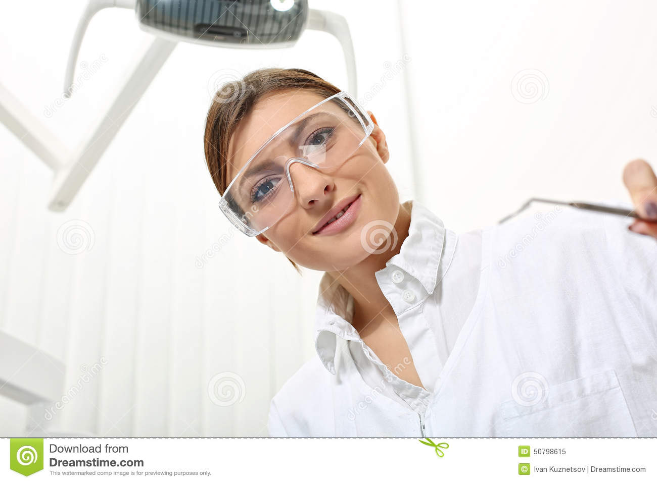 Dentist Yellow Glasses