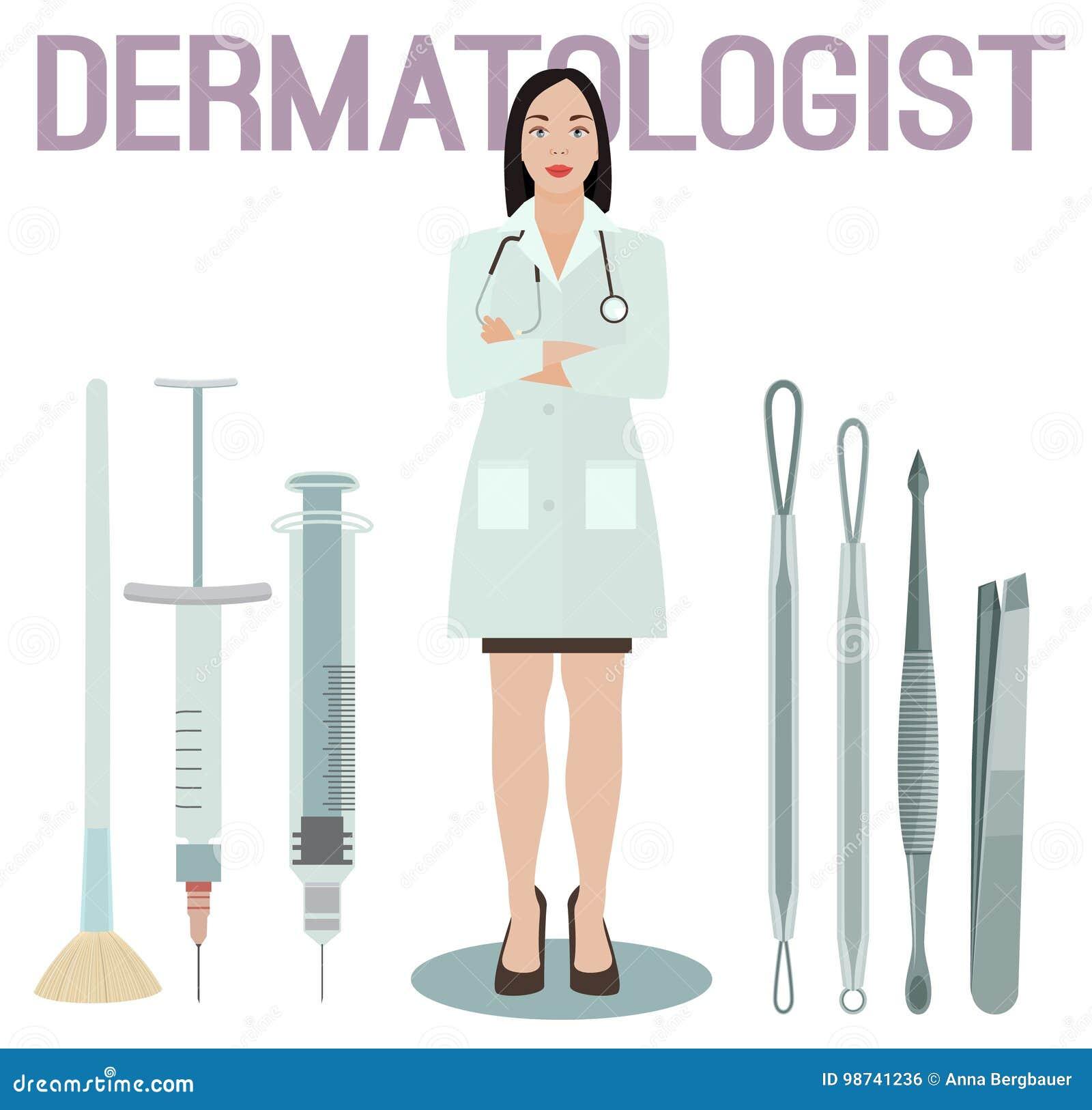 Dermatology: Esthetician Cartoons, Illustrations & Vector Stock Images