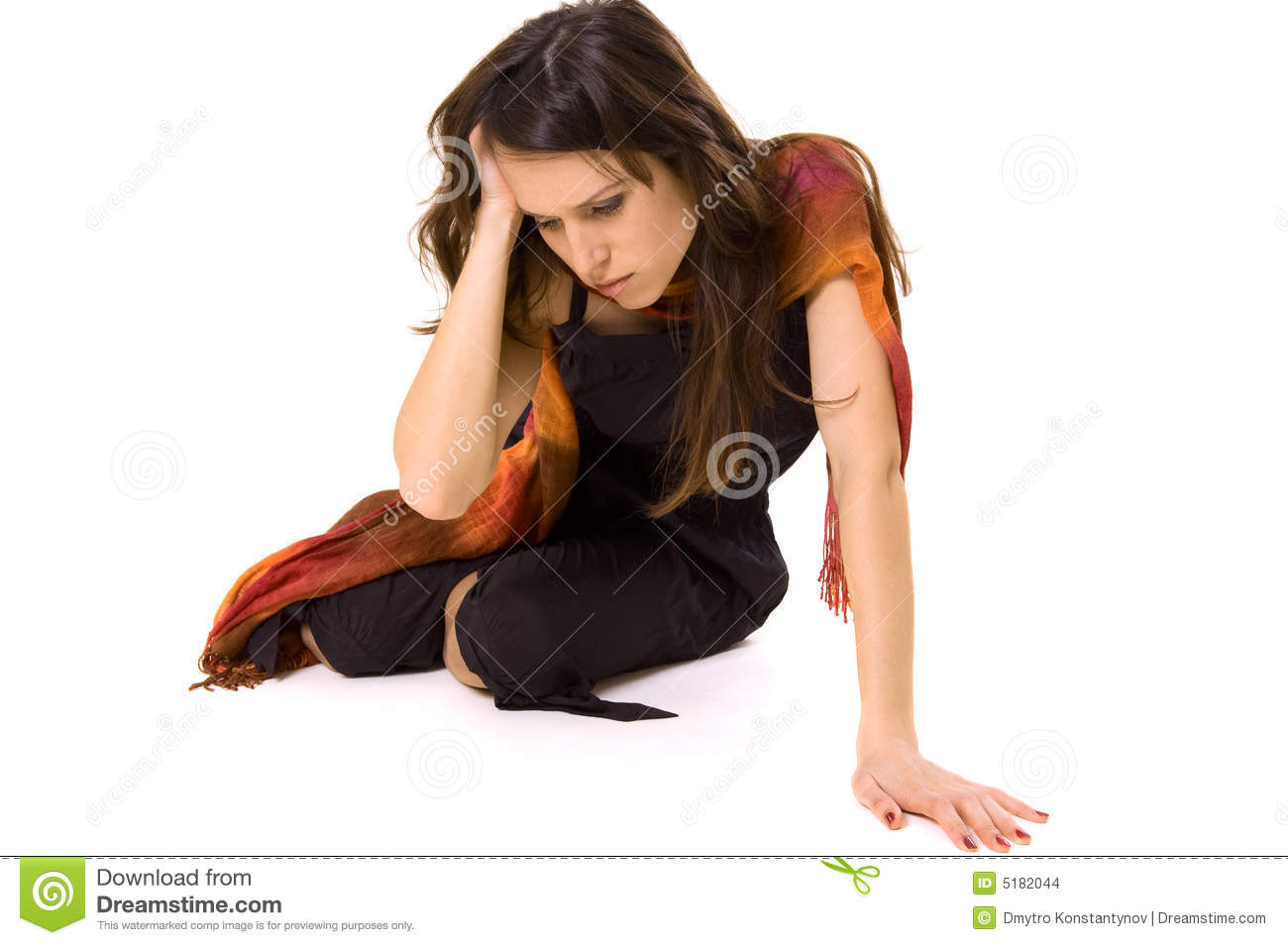 Woman In Despair Stock Images - Image: 5182044