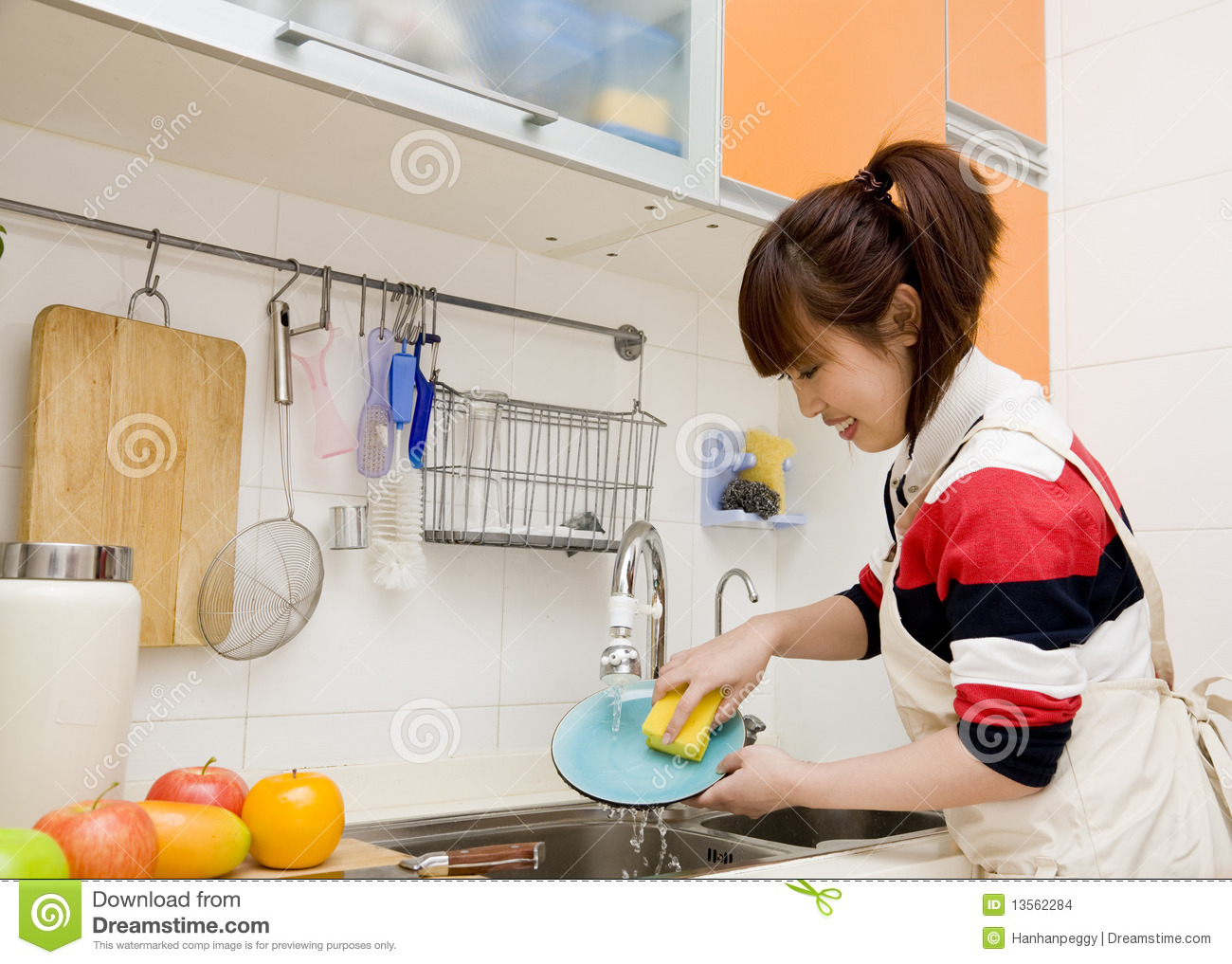 Woman Doing Housework Stock Images Image 13562284