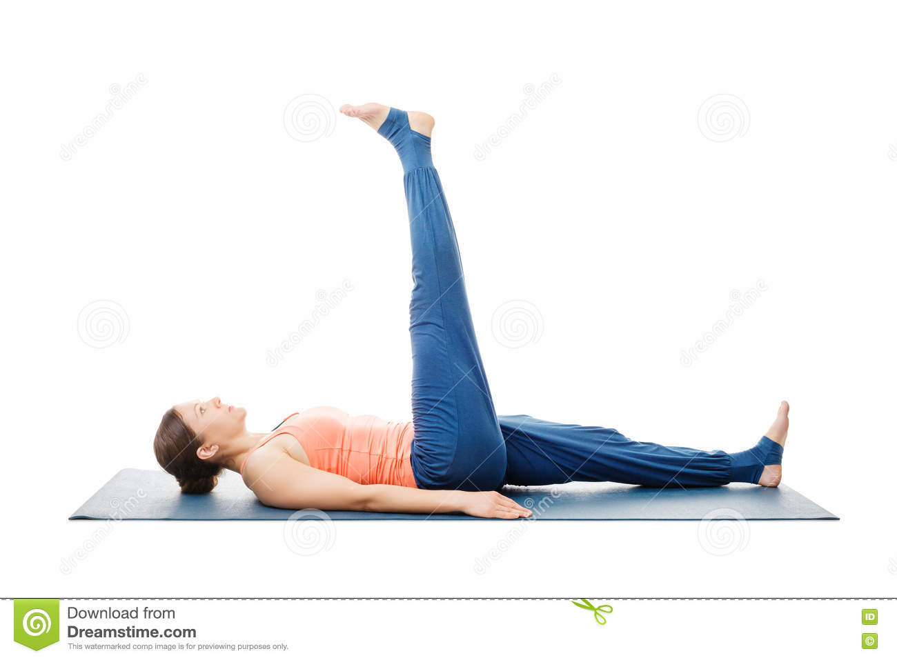 Natarajasana Lying Down