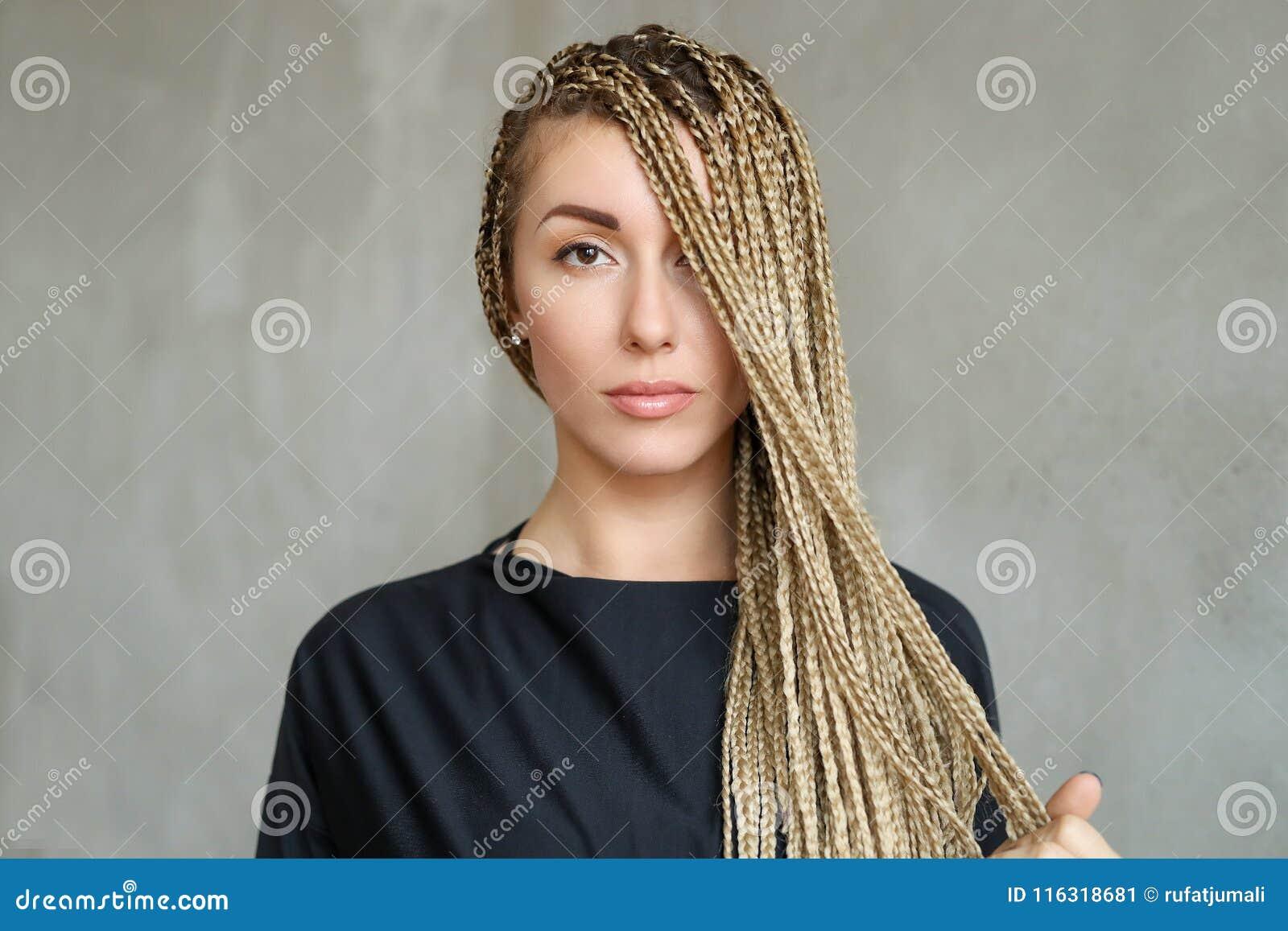 Woman With Dreadlocks Stock Image Image Of Teen Long 116318681