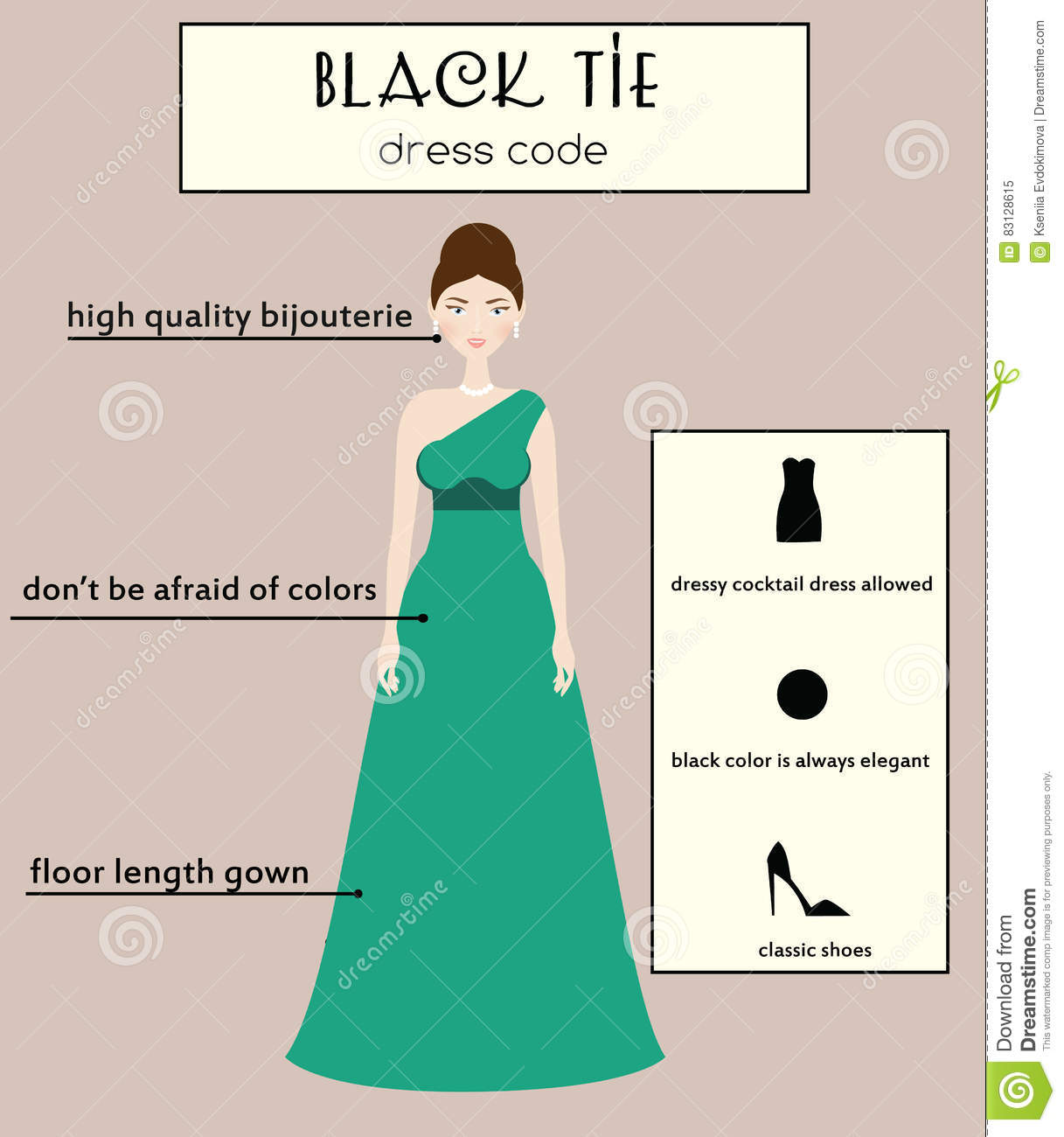 Dress code evening gown - Black Code Dress Evening Female Gown