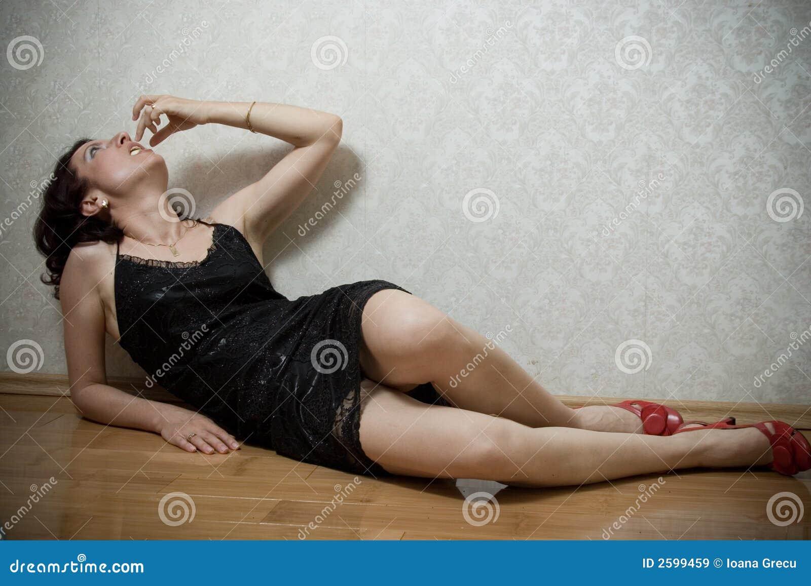 Woman Eating Banana Royalty Free Stock Images Image 2599459