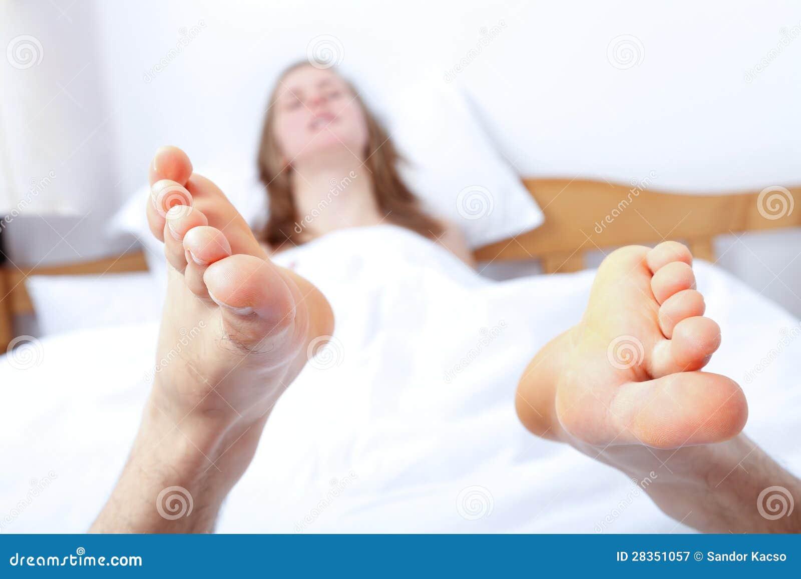 Enjoying oral sex