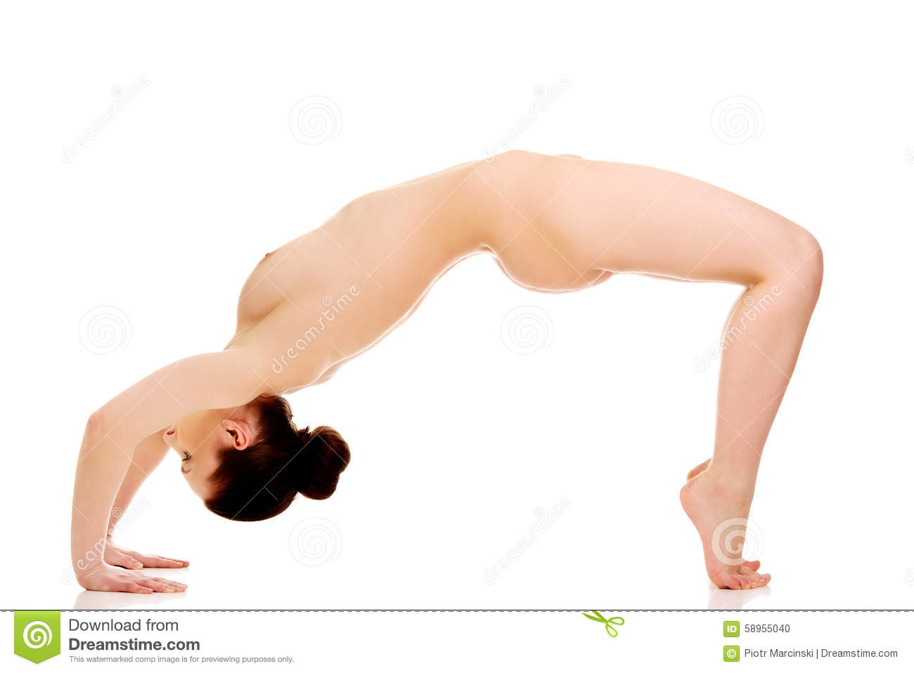 fitness yoga female Nude