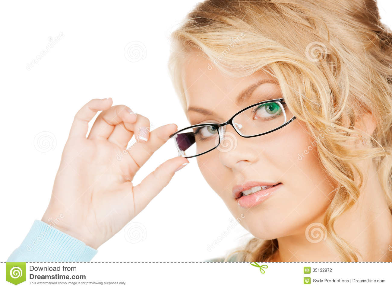 eyeglasses k27m  Woman with eyeglasses