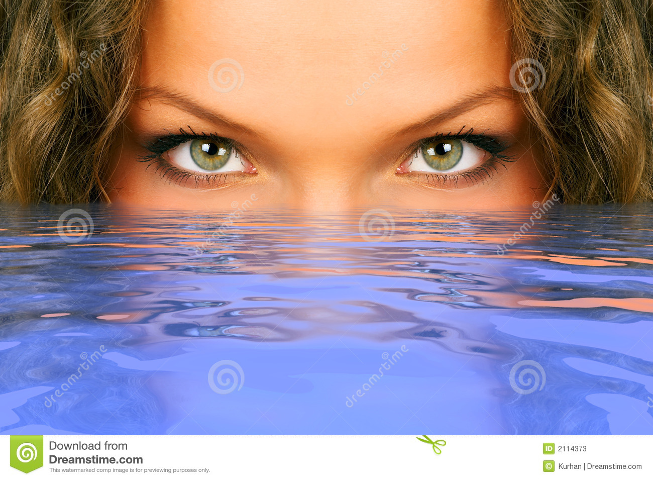 Woman Eyes Stock Photos - Image: 2114373