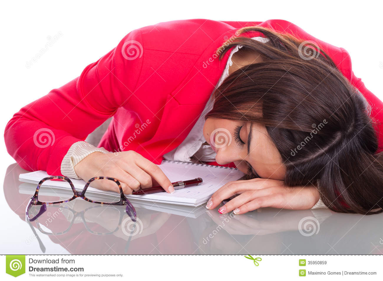 Woman Sleeping At Desk Pictures and Images  Getty Images