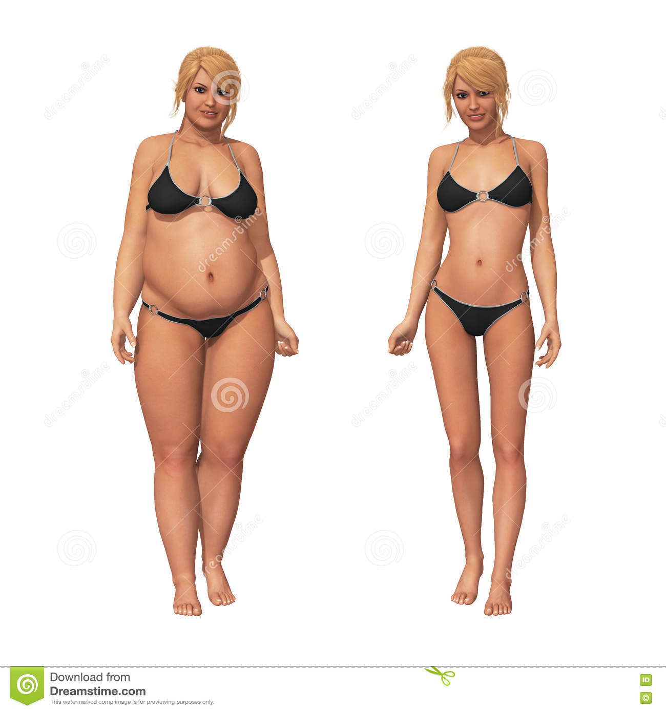 Woman Fat To Thin Weight Loss Transformation Stock Illustration Illustration Of Loss Body 78084258 None of the above of those transformations in this video ever used the body transformation blue print program. dreamstime com