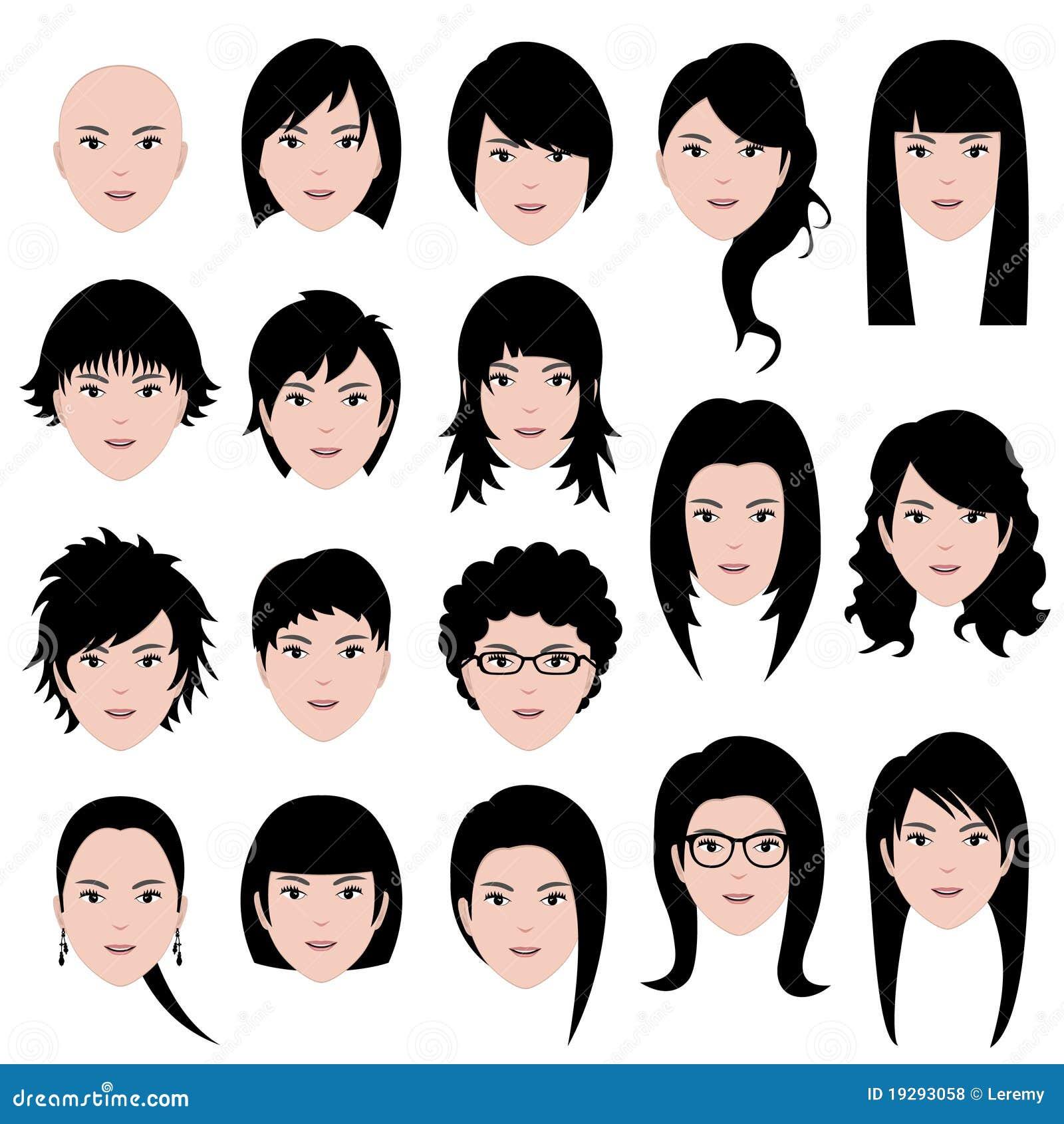 Женские прически на азиатское лицо