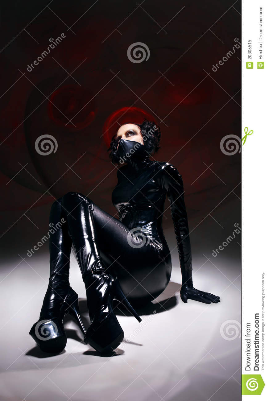 latex Fetish photography and