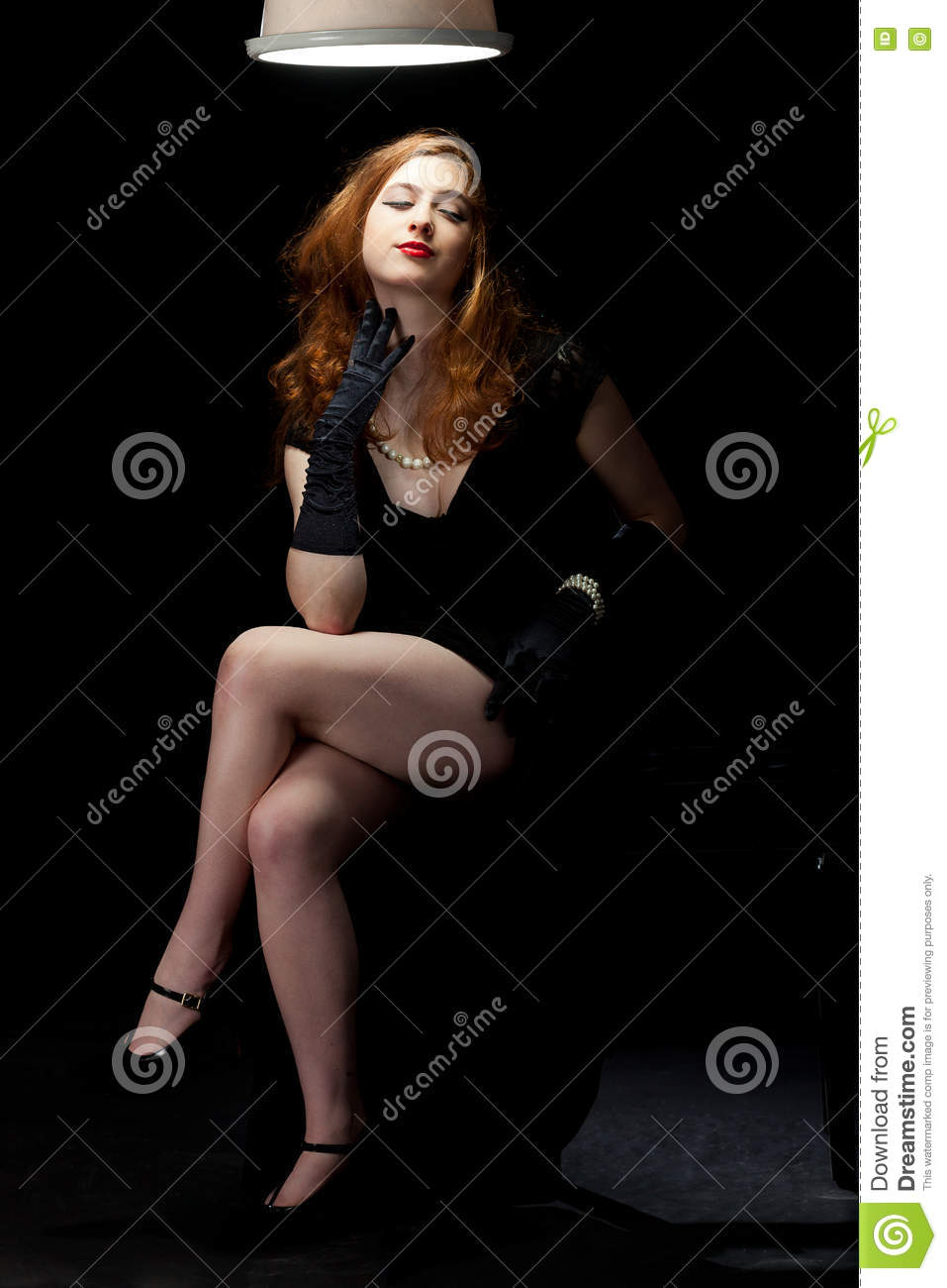 woman film noir stock photo image 70512803