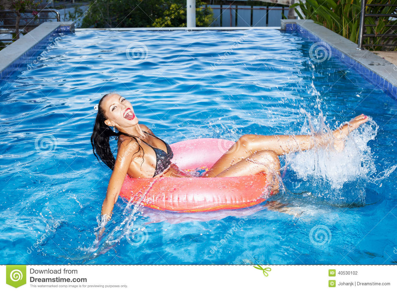 Fun On Inner Tube Stock Picture I2467777 at FeaturePics