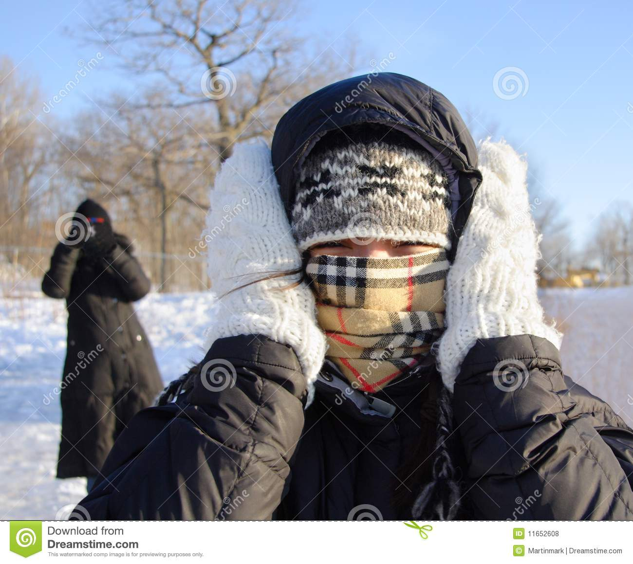 Freezing Cold Woman Woman Freezing Cold Ro...