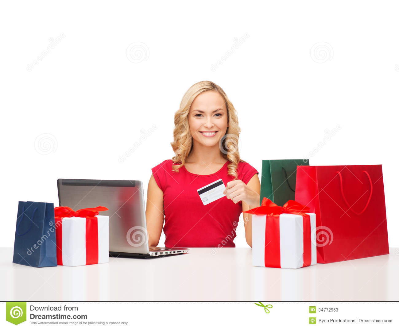Many online e-gift sites let you see how the gift looks when it's received, so that you can see it as the recipient sees it. Many stores can also help you send an e-gift card from the store the next time you stop by; just walk in an ask the staff for help.