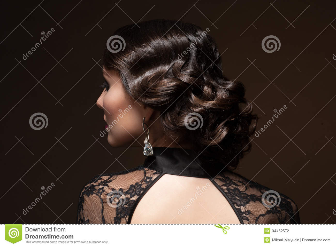 Woman with hairstyle