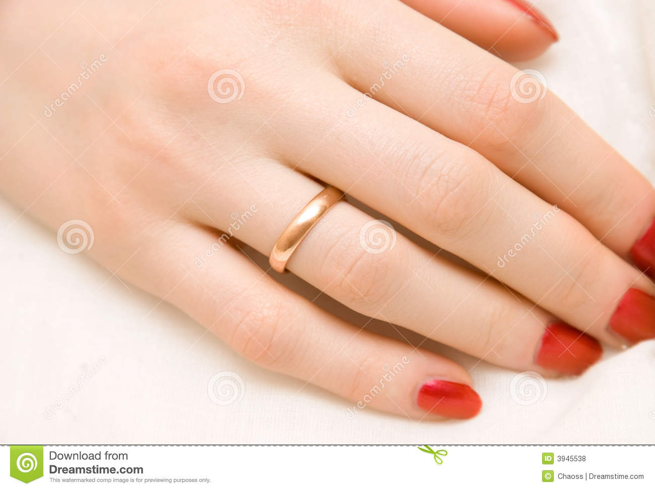 woman hand with golden ring stock photo image 3945538. Black Bedroom Furniture Sets. Home Design Ideas