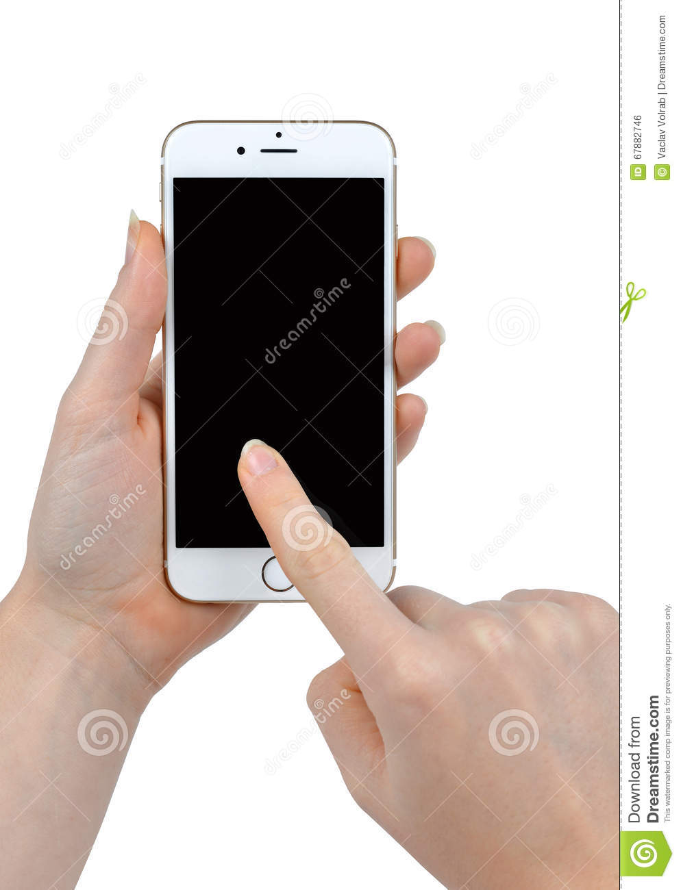hand holding iphone holding apple iphone 6 smart phone editorial 10757