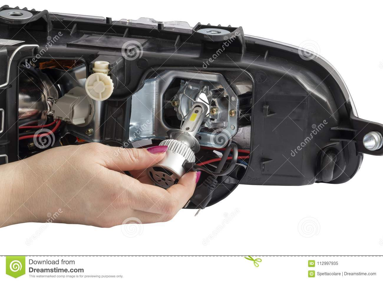 Car Headlight Bulbs Wiring - Wiring Diagrams Structure on