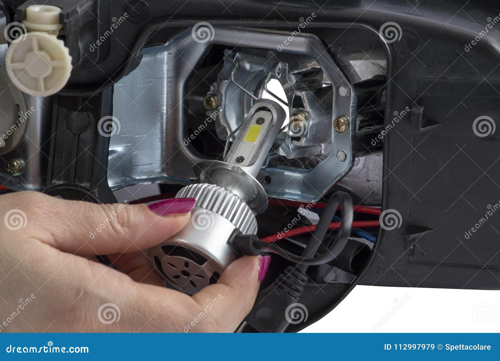 hook up led lights to car