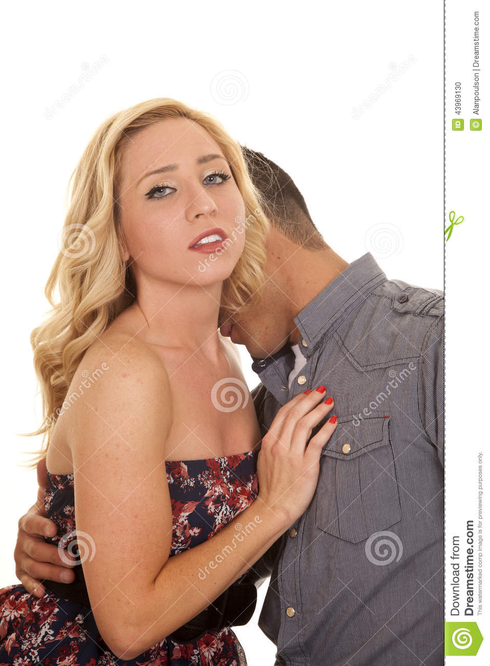 How to kiss a girl in her neck