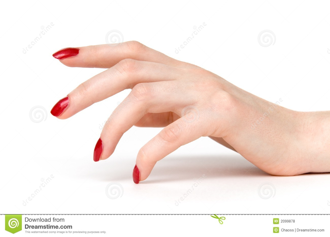 Woman hand with red nails stock image. Image of iconmariananna - 2099867