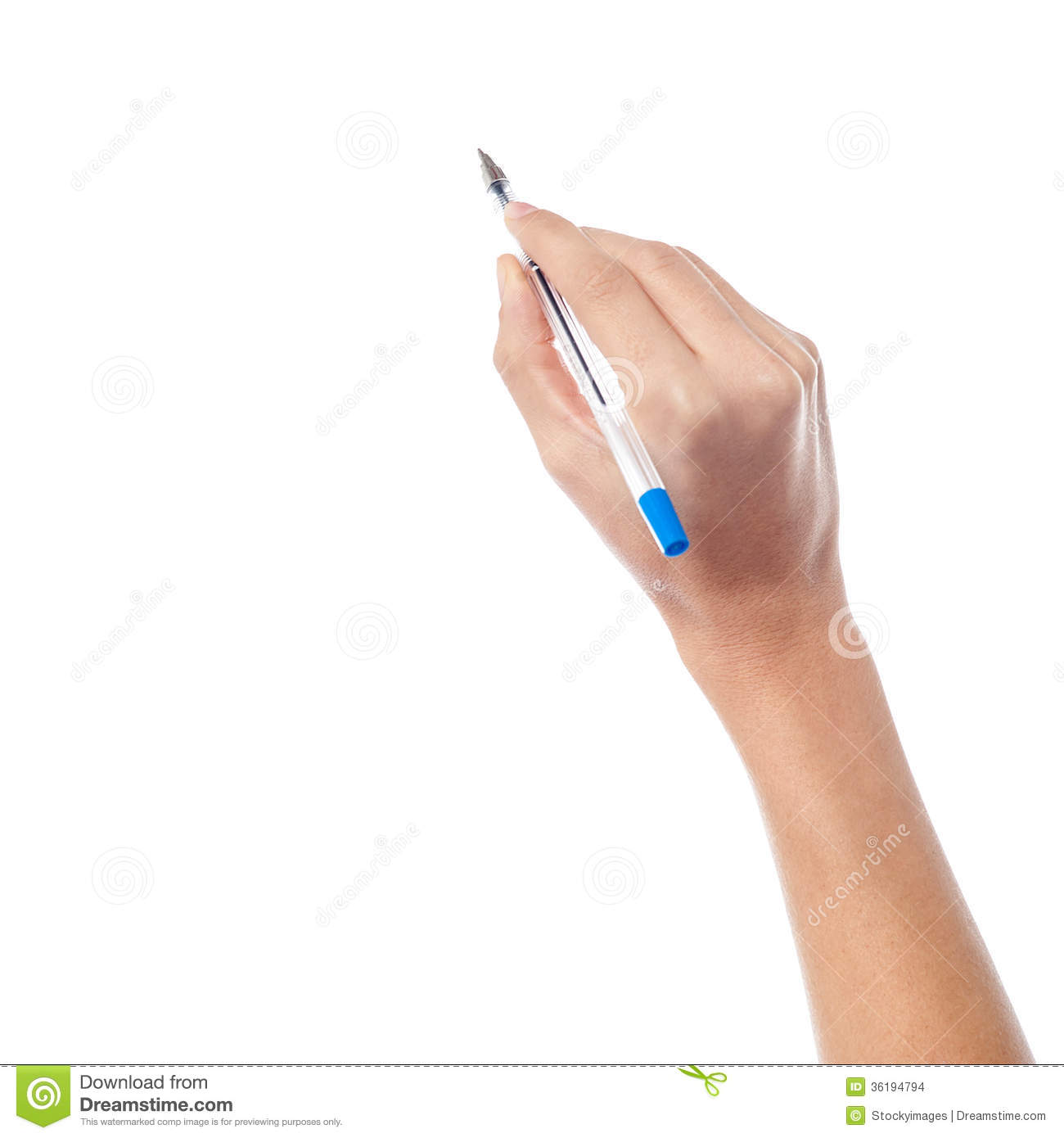 how to write with other hand