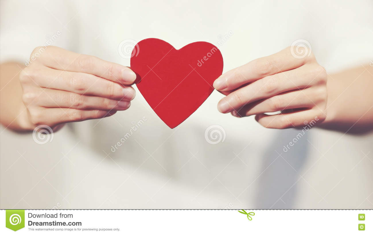 hands holding a heart mothers day card holding shape symbol royalty free 8101